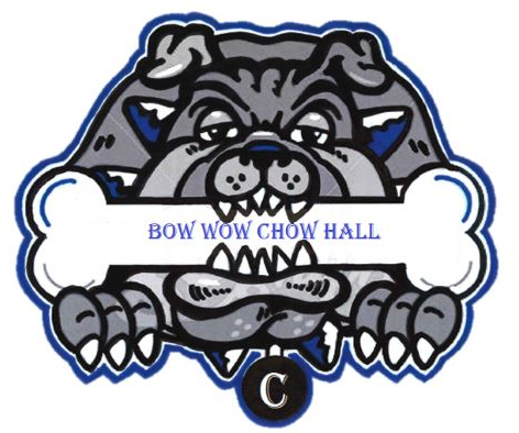 bow wow chow hall, food services, crestline school